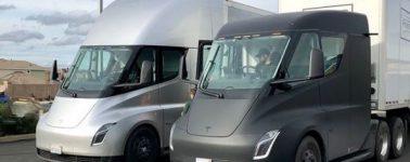 Los primeros Tesla Semi realizan su primer viaje con carga incluida