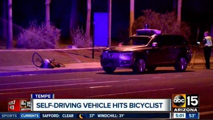 Uber coche autónomo accidente 740x416 0