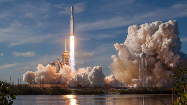 falcon heavy launch 740x416 0