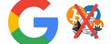 Google prohibirá la publicidad relacionada con criptomonedas