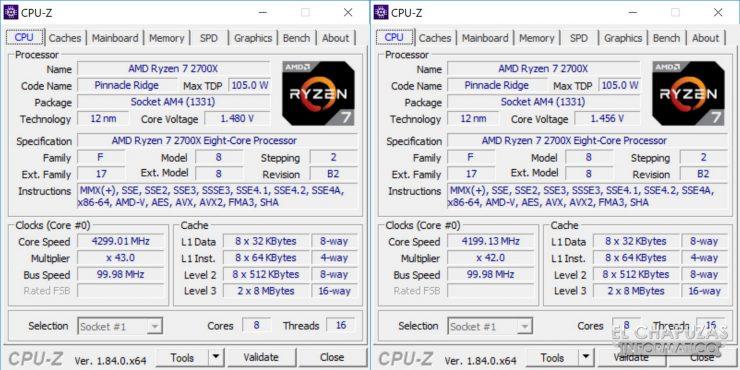 AMD Ryzen 7 2700X X470 OC 740x370 34