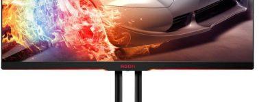 AOC AGON AG322QC4: 31.5″ QHD @ 144 Hz, FreeSync 2 y HDR400 por 599 euros