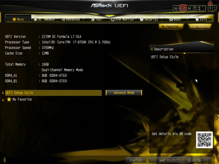 ASRock Z170 Core i7 8700K Coffee Lake 1 740x555 1