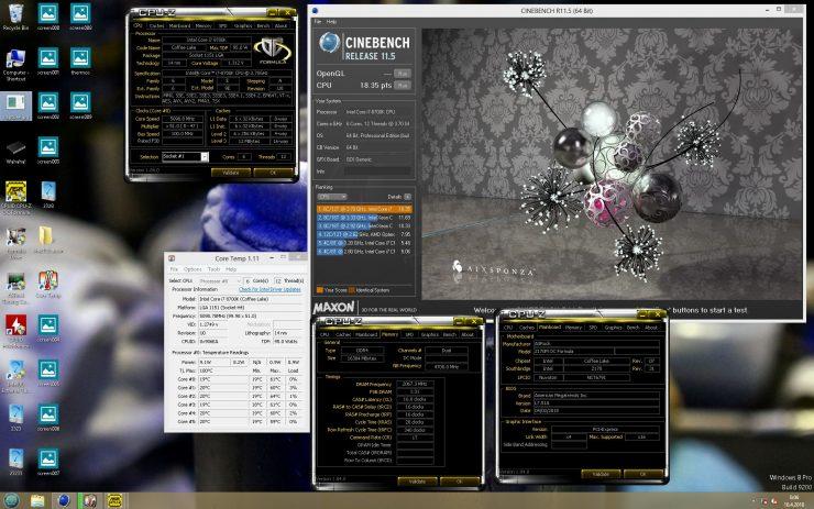 ASRock Z170 Core i7 8700K Coffee Lake 3 740x463 4