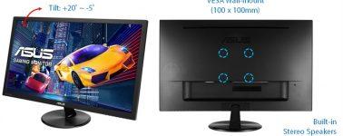 Asus VP228QG: Monitor gaming de 21.5″ para la gama de entrada
