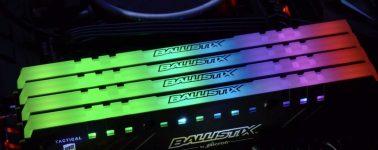 Tactical Tracer RGB: Ballistix ya tiene sus memorias con iluminación RGB