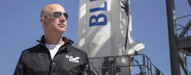 El billete para un vuelo turístico espacial de Blue Origin costaría unos 200.000 dólares