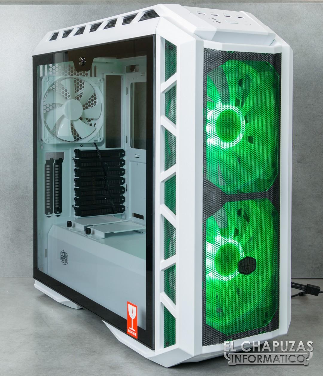 Review: Cooler Master MasterCase H500P Mesh White