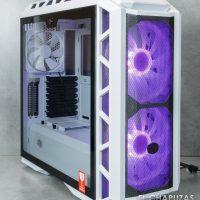 Cooler Master MasterCase H500P Mesh White 08 200x200 13