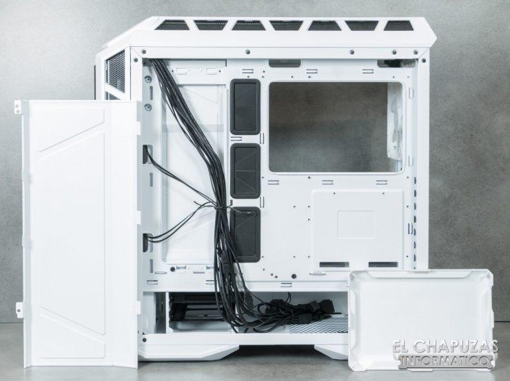Cooler Master MasterCase H500P Mesh White 29 740x553 40