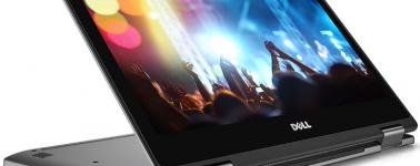 Los Dell Inspiron 13 7000 (13.3″ convertibles) también se actualizan con AMD Ryzen