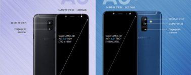 Los Samsung Galaxy A6+ y A6 (2018) sucumben a las filtraciones