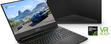 Gigabyte AERO 14/15/15X: CPUs de 6 núcleos, pantalla @ 144 Hz, GPU Nvidia y portables