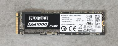 Review: Kingston KC1000 (SSD M.2 PCIe Gen3x4 NVMe)