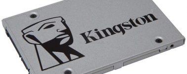 Kingston UV500: SSDs 2.5″, M.2 y mSATA de hasta 1.9TB de capacidad y 5 años de garantía