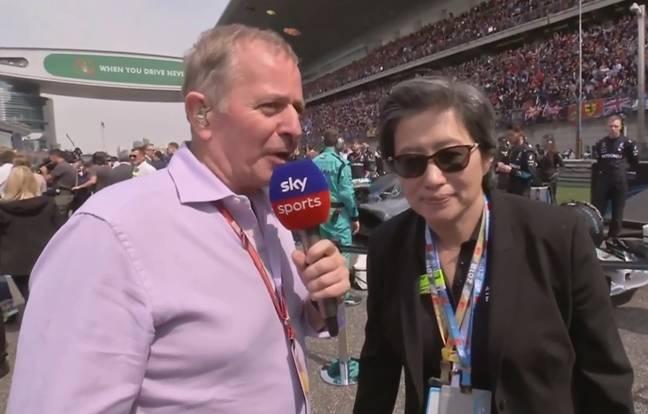 Lisa Su Gran Premio de Formula 1 de China 0