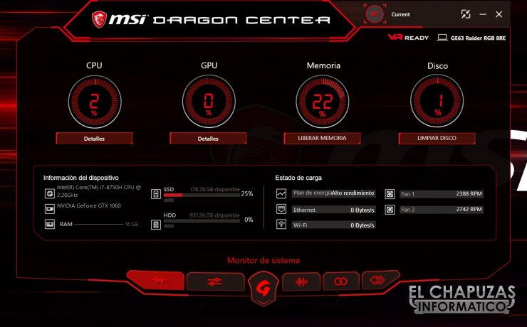 MSI GE63 Raider RGB 8RE Software 01 740x460 32