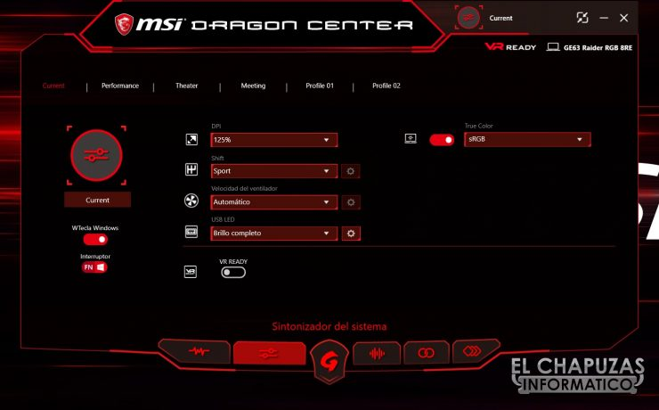 MSI GE63 Raider RGB 8RE Software 02 740x460 33