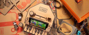 Nintendo lanzará piezas de repuesto para reparar los Nintendo Labo