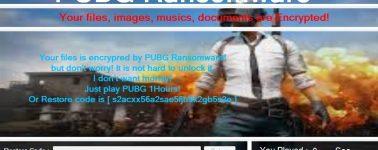 PUBG Ransomware: Toda tu información bloqueada hasta que juegues al PlayerUnknown's Battlegrounds