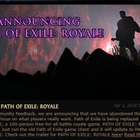 Path of Exile recibe un modo Battle Royale por el April Fools' Day