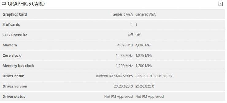Radeon RX 560X 3DMark 740x337 1