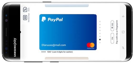 Samsung Pay Paypal 0