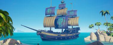Sea of Thieves alcanza la versión 1.0.4: Mejoras de rendimiento, resolución, servidor y barco legendario