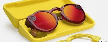 Snapchat anuncia la 2ª Generación de sus gafas de sol con cámara Spectables