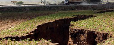 Aparece en Kenia una grieta kilométrica que está dividiendo África en dos