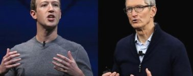 Mark Zuckerberg intentó arremeter contra Apple y Tim Cook durante sus declaraciones en el Congreso