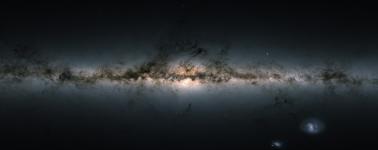 La ESA publica el mapa más completo de la Vía Láctea hasta la fecha