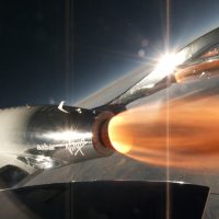 El VSS Unity rompe la barrera Mach 2 en su tercera prueba de vuelo