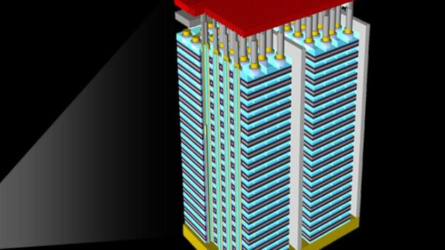 3D NAND Flash apilamiento 140 capas 1 0