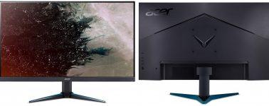 Acer Nitro VG0 y RG0: Monitores gaming 4K, 2K y Full HD @ 75 y 144 Hz