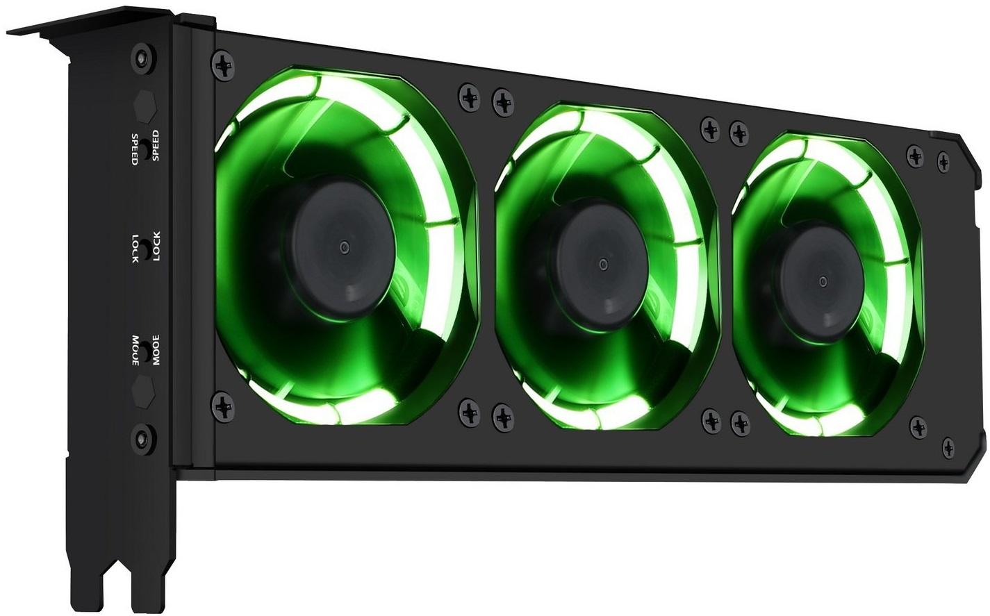 Anidees AI-GP-CL8: Sistema de refrigeración para GPUs con triple ...