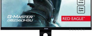 Iiyama presenta sus nuevos monitores G-Master: Full HD @ 75 y 144 Hz