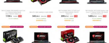 MSI inaugura sus Gaming Days: Descuento en portátiles gaming, hardware y periféricos