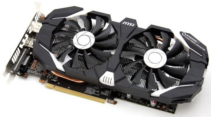 MSI GeForce GTX 1060 6GT OCV1 6GB 1