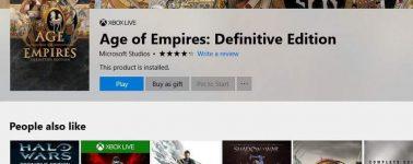 Microsoft Store nos permitirá ahora enviar juegos como regalo