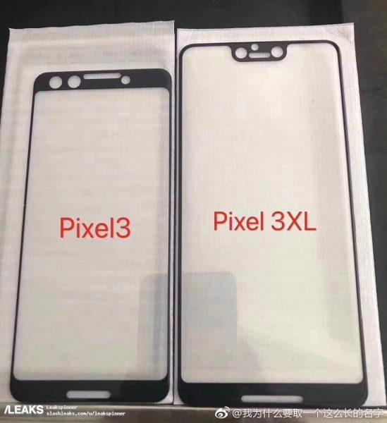 Paneles Google Pixel 3 549x600 0