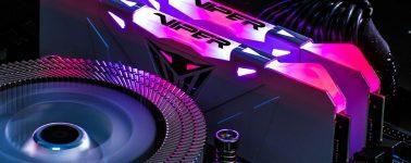 Patriot Memory lanza sus memorias para gamers Viper RGB