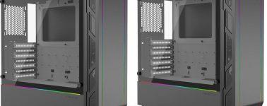 Phanteks Eclipse P350X: Chasis E-ATX con iluminación RGB a bajo coste
