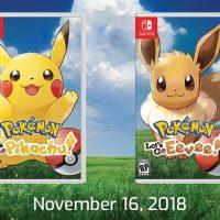 Pokémon Let's Go Pikachu y Pokémon Let's Go Eevee estrenan nuevo tráiler