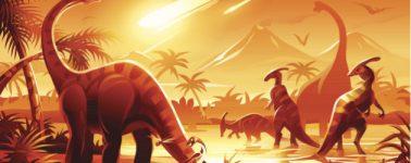 Encuentran los restos más puros del meteorito que extinguió a los dinosaurios