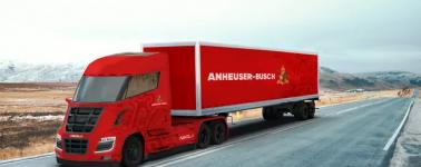 La cervecera Anheuser-Busch reserva 800 unidades del camión de hidrógeno de Nikola