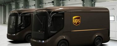 UPS presenta su nueva flota de vehículos de reparto: furgonetas completamente eléctricas