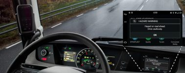 Los camiones y coches de Volvo podrán utilizar la nube para alertarse de peligros en la carretera