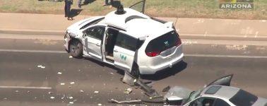Un vehículo autónomo de Waymo se ve involucrado en un accidente de tráfico