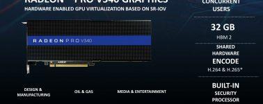 AMD Radeon Pro V340: Doble silicio Vega 10 junto a 32 GB de memoria HBM2